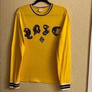 Diesel-Yellow Long Sleeves Shirt- Size L